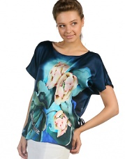 Handmade Silk Blouses and Silk Tops for women