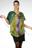 Silk Blouse Irises 2