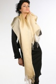 Viscose and Polyester Silky Scarf 24