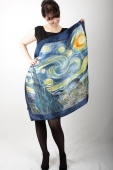 Silk Scarf Starry Night by Van Gogh