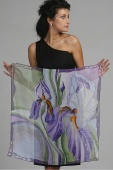 Silk Scarf The Dream of Iris