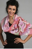 Silk Scarf The Dream of the Flowers