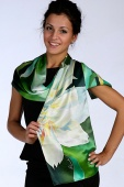Silk Scarf The Spring 2