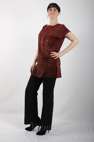 Silk Blouse Fall Waltz 2