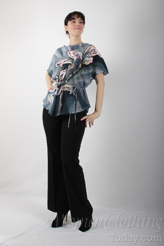 Silk Blouse The Orchids