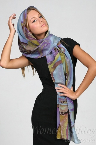 Silk Scarf Only You and Me