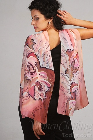 Silk Scarf Pink Mirage