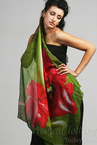 Silk Scarf Sun Music