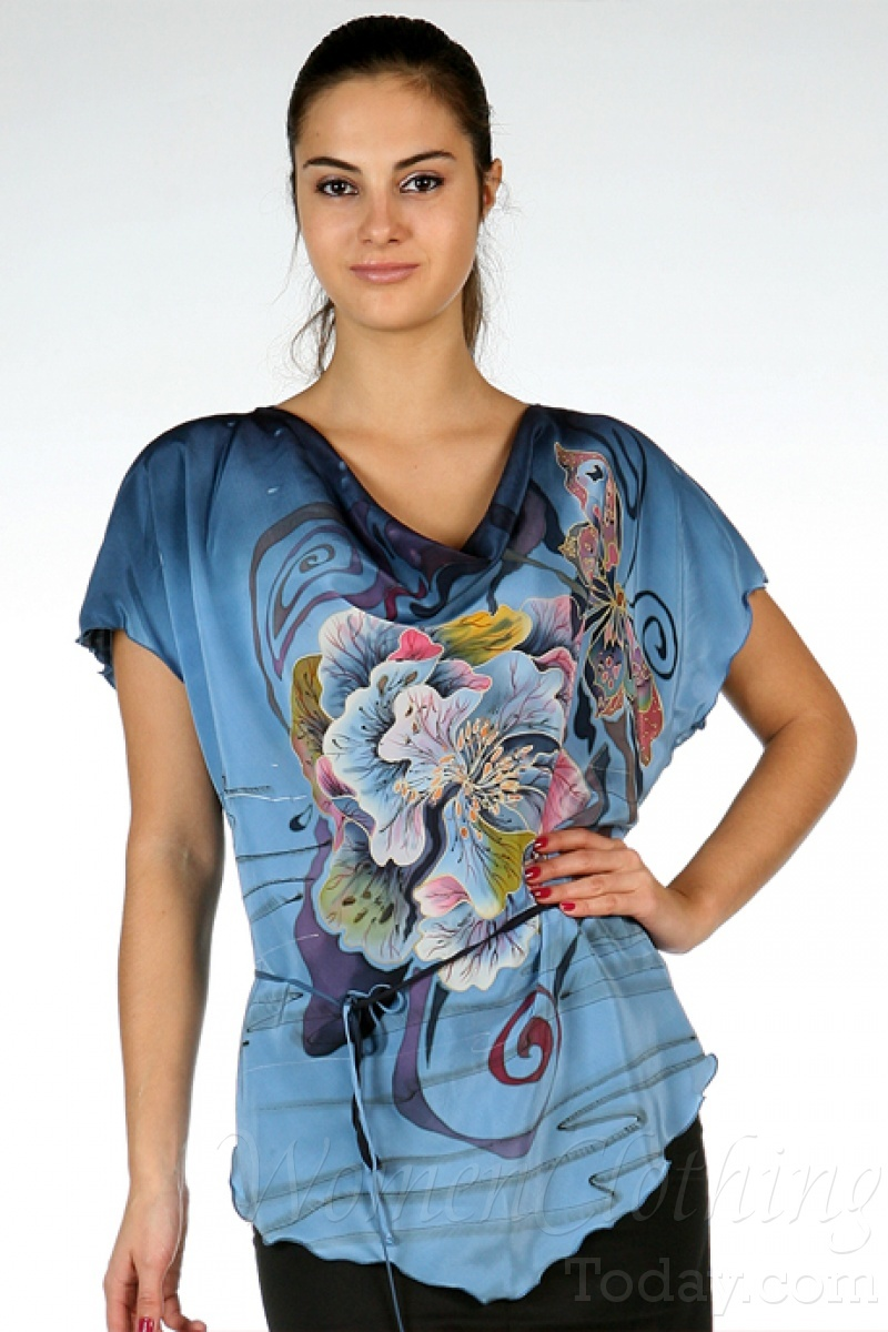 Women'S Washable Silk Blouses 114