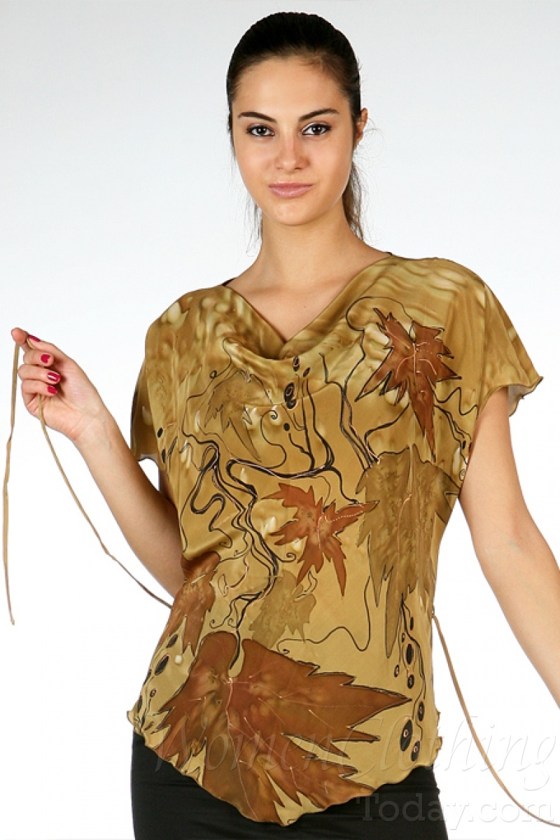 Women'S Washable Silk Blouses 120