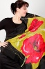 Silk Scarf Passion Square