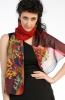 Silk Scarf Red Sea 2
