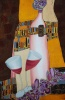 Silk Painting Inspired by Gustav Klimt