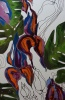 Silk Painting Tropical Aromas
