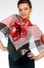 Silk Scarf Ladies Caprice