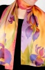 Silk Scarf The Irises of Heaven Garden