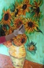 Silk Scarf Sunflowers